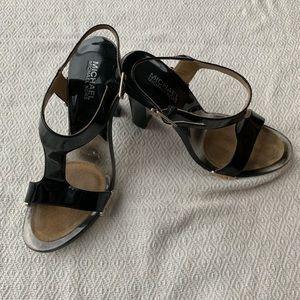 Michael Kors Black Heels 8 1/2